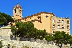 Sanktuarium Virgen Del Castillo w Cullera, Hiszpania Obraz Royalty Free