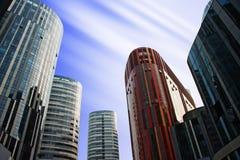 sanlitun офиса фарфора зданий Пекин Стоковые Фотографии RF