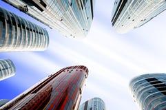 sanlitun офиса фарфора зданий Пекин Стоковые Фото
