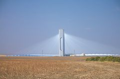 sanlucar ηλιακός σταθμός ισχύος Στοκ φωτογραφίες με δικαίωμα ελεύθερης χρήσης