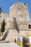 Sanlucar de Barrameda,卡迪士,西班牙圣地亚哥城堡  免版税库存图片