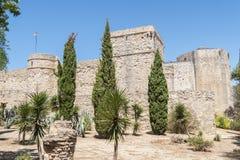 Sanlucar de Barrameda,卡迪士,西班牙圣地亚哥城堡  库存照片