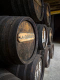 SANLUCAR DE BARRAMEDA, SPAIN - APRIL 12, 2015 - Cigarrera Wine c Stock Images