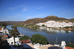 Sanlucar de Guadiana Royalty Free Stock Photo