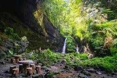 Sanmin Bat Cave in Fuxing District, Taoyuan, Taiwan. Stock Image