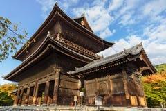 Sanmon brama przy Nanzen-ji świątynią w Kyoto Zdjęcie Stock