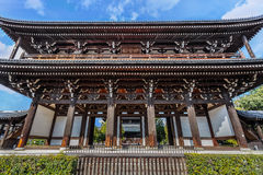 Sanmon - main gate at Tofuku-ji Temple in Kyoto Stock Photos