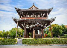 Sanmon - main gate at Tofuku-ji Temple in Kyoto Royalty Free Stock Photos
