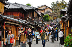 Sannen-Zaka, Киото, Япония Стоковая Фотография RF