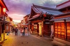 Sannen-zaka Higashiyama Kyoto Royalty Free Stock Photo