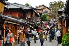 Sannen-Zaka, Kyoto, Japón Fotografía de archivo libre de regalías