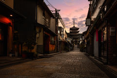 Sannen Zaka Street Royalty Free Stock Photos