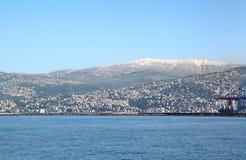 Sannine,登上黎巴嫩 免版税库存图片