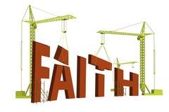 sanning för tro för trobyggnadsförtroende Arkivbilder