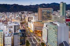 Sannomiya Cityscape Stock Image