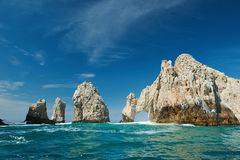Sanny天在Cabo圣卢卡斯 免版税库存图片