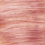 Sano rosa claro clip-en textura del pelo Fotos de archivo libres de regalías