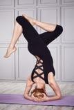 Sano sexy della donna del vestito di yoga di sport Fotografia Stock