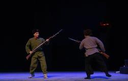 "Sanpachi-shiki hohei-ju-Peking Opera ""Taking Tiger Montain By Strategy"" Royalty Free Stock Image"