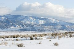 Sanpete Valley Stock Photo