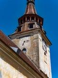 Sanpetru Church clock tower Royalty Free Stock Image