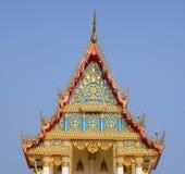 Sanphantaynorrasing tempel i Thailand Arkivfoton