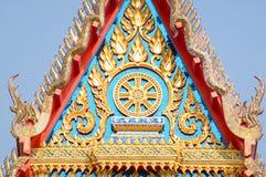 Sanphantaynorrasing tempel i Thailand Royaltyfria Bilder