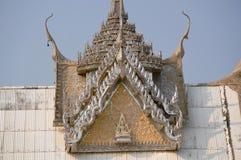 Sanphantaynorrasing tempel i Thailand Royaltyfri Bild