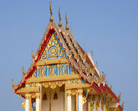 Sanphantaynorrasing Temple in Thailand. Beautiful temple royalty free stock photo