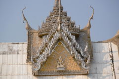 Sanphantaynorrasing Temple in Thailand. Beautiful temple royalty free stock image