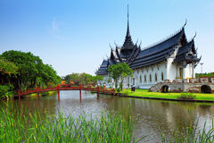 Sanphet在泰国 免版税图库摄影