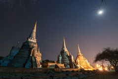 Sanphet Ayutthaya Tailandia di sri di phra di Wat Fotografia Stock