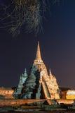 Sanphet Ayutthaya Tailandia di sri di phra di Wat Immagini Stock