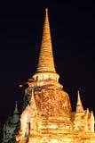 Sanphet Ayutthaya Tailandia di sri di phra di Wat Immagine Stock