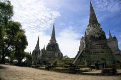 Sanphet del si del phra de Wat en ayutthaya Imagen de archivo