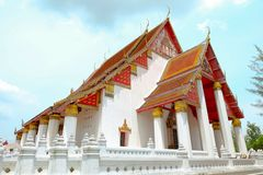 Sanphet du phra SI de Viharn Wat Photos stock