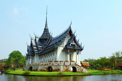 Sanphet Prasat宫殿曼谷 库存照片