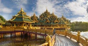 Sanphet Prasat宫殿,古老Cityf曼谷 免版税库存图片