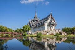 Sanphet Prasat宫殿 免版税图库摄影