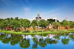 Sanphet Prasat Palace stock photo