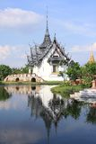 Sanphet Prasat Palace, Ancient City, Bangkok, Thai Royalty Free Stock Photography