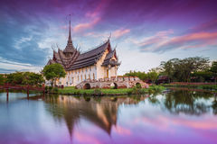 Sanphet Prasat Palace, Ancient City Royalty Free Stock Image