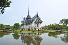 Sanphet Prasat Palace, Ancient City Royalty Free Stock Photos