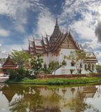 Sanphet Prasat Palace, Ancient Cityf Bangkok Royalty Free Stock Photo