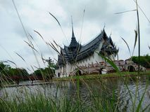 Sanphet-prasat Palast alte Stadt Bangkok, Thailand stockfoto