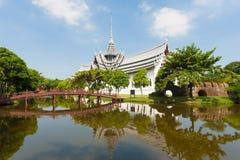 Sanphet Prasat slott Arkivbilder