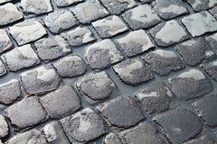 Sanpietrini通过阿皮亚Antica 免版税库存图片