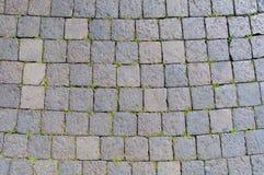 Sanpietrini, pavimento típico de Roma, Itália Imagem de Stock Royalty Free