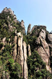 Sanqing mountain Royalty Free Stock Photography