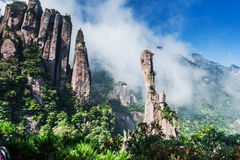 Sanqing mountain in China Royalty Free Stock Photography